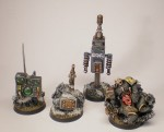 Objective Markers and Chooser of the Slain marker