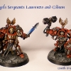 Finished Blood Angels Terminators 2