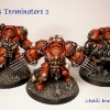 Finished Blood Angels Terminators 8