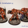 Finished Blood Angels Terminators 12