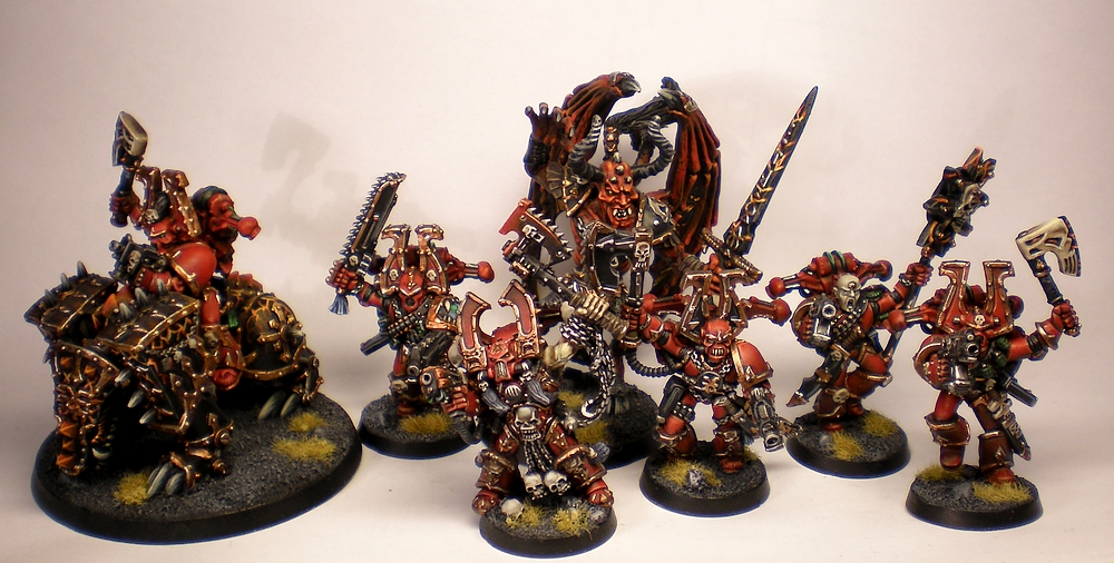 Commission  2nd Edition World Eaters Chaos Space Marines Army