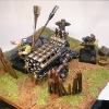 Volley Gun on Scenic Base