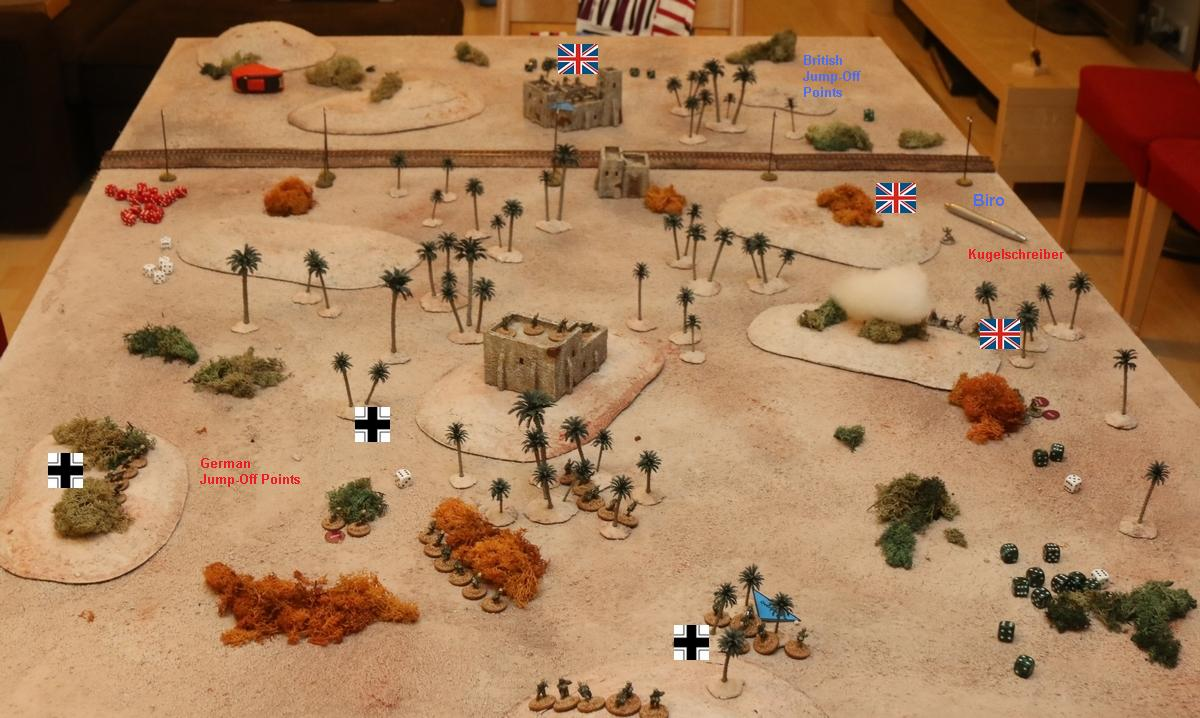 chain of command africa41 first campaign game