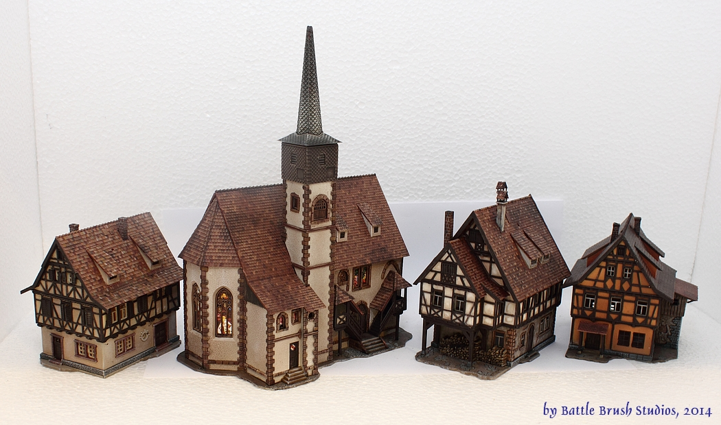 Model train houses sale