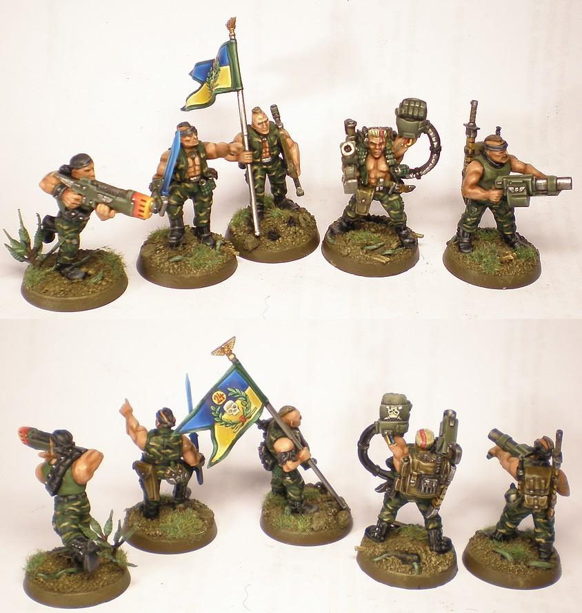 Platoon Command Squad
