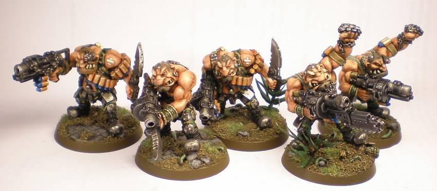 Imperial Guard Ogryns Squad