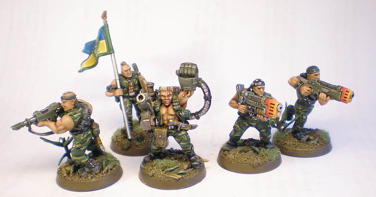Imperial Guard Command Squad