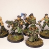 Imperial Guard Lt.Ron's platoon command squad