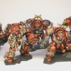Space Hulk Blood Angels Terminators some finished Terminators