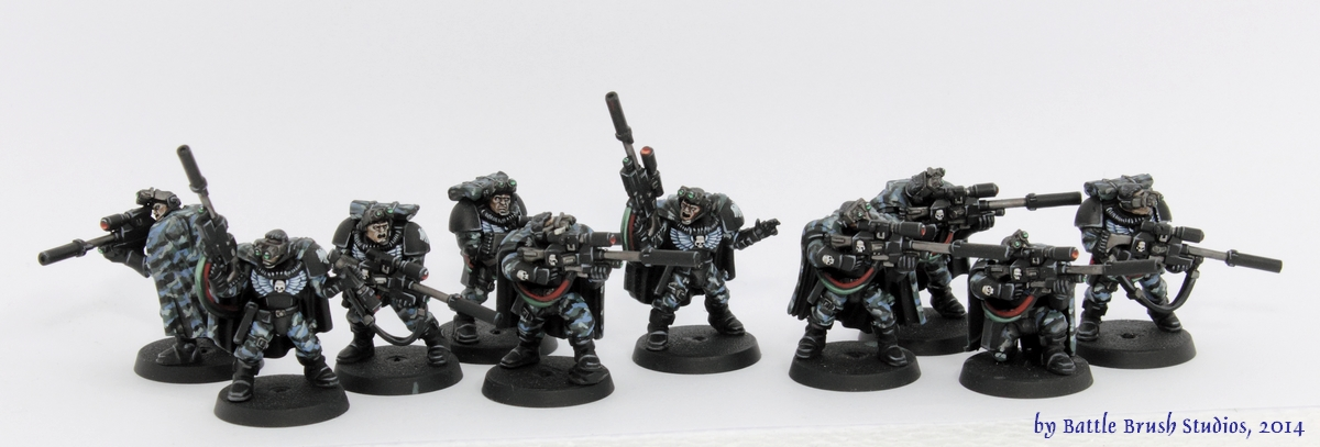 Painting Space Marine Scout Faces