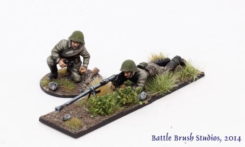 Soviet Tank Riders platoon finished! - Too Fat Lardies